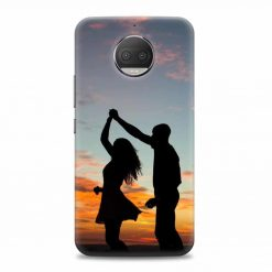 6084d4785a Adore Couple Moto G5s Plus Mobile Phone Cover